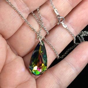 Jewelry - Swarovski tear drop Crystal Necklace